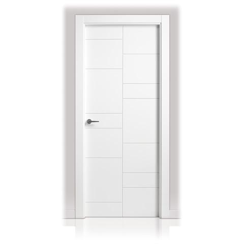 Puerta lacada en block san rafael serie 941 decoraciones - Puertas lacadas san rafael ...