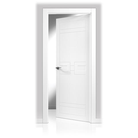 Puerta lacada en block san rafael serie 943 decoraciones - Puertas lacadas san rafael ...