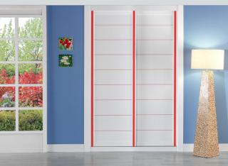 Frente de armario Combi Serie Lineas