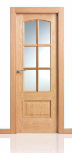 Puerta Serie Clasica Curva Tm 6v
