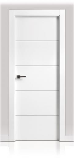 Puerta lacada en block san rafael serie 9005 decoraciones mabel - Puertas lacadas en blanco precios ...