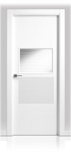 Puerta Lacada en block San Rafael Serie 924 1v